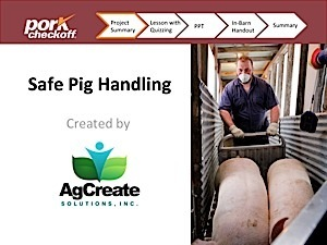 Pork Production Tools For Producers