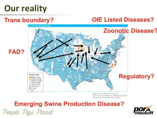 The Swine Health Information Center - A New Defense for the Industry