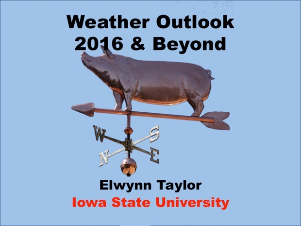 Weather Outlook 2016 & Beyond