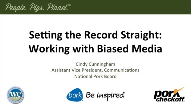 Setting the Record Straight: Working With Biased Media